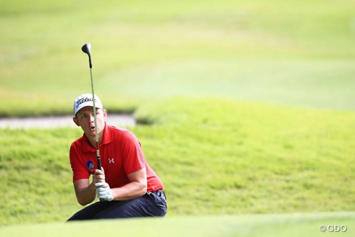スコアを崩し9位Tに後退、ゴルフは難しいね 2014年 アジアパシフィックオープンゴルフチャンピオンシップ ダイヤモンドカップゴルフ 2日目 キャメロン・スミス
