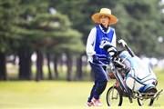 2014年 アジアパシフィックオープンゴルフチャンピオンシップ ダイヤモンドカップゴルフ 2日目 キャディ
