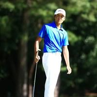 オーストラリアを拠点とする加賀﨑航太。今後はワンアジアツアーにもデビュー予定 2014年 アジアパシフィックオープンゴルフチャンピオンシップ ダイヤモンドカップゴルフ 2日目 加賀崎航太