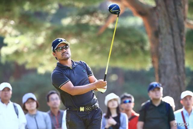 2014年 アジアパシフィックオープンゴルフチャンピオンシップ ダイヤモンドカップゴルフ 3日目 宮里優作 裏街道のほぼ最後から出て一気に3位へと浮上を果たした宮里優作