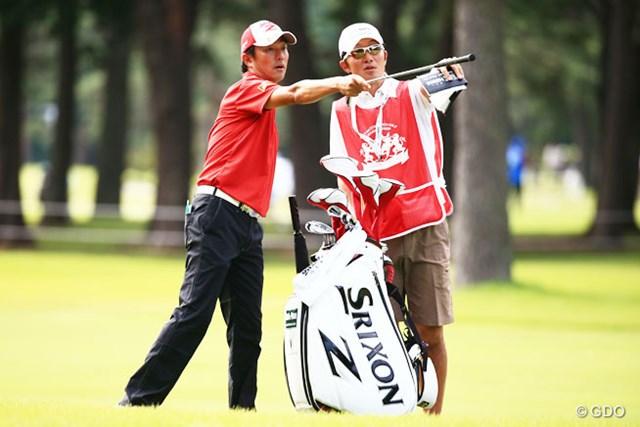 2014年 アジアパシフィックオープンゴルフチャンピオンシップ ダイヤモンドカップゴルフ 3日目 山下和宏 首位と1打差、2位につける山下和宏