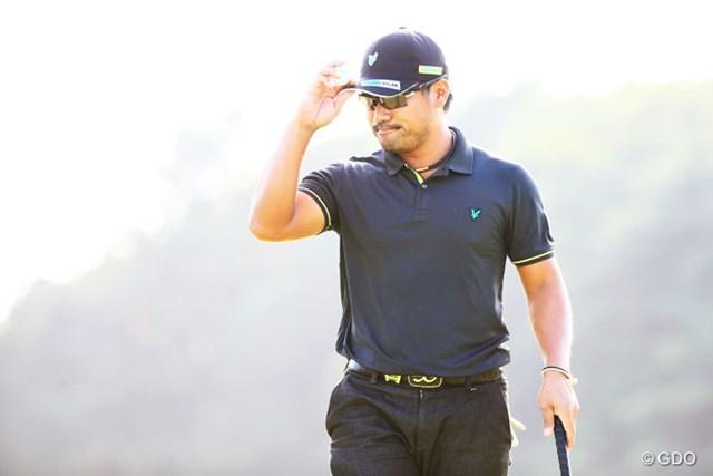 2014年 アジアパシフィックオープンゴルフチャンピオンシップ ダイヤモンドカップゴルフ 3日目 宮里優作 逆転優勝もあり得るね