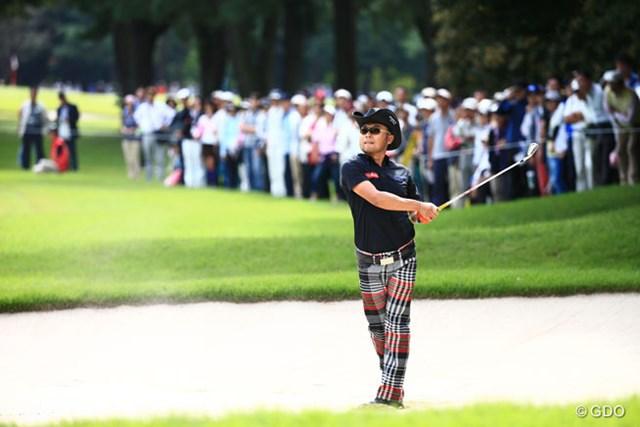 2014年 アジアパシフィックオープンゴルフチャンピオンシップ ダイヤモンドカップゴルフ 3日目 片山晋呉 茨城は地元だっぺ。茨城の皆さん言葉使いが間違ってたらごめんなさい