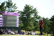 2014年 ミヤギテレビ杯ダンロップ女子オープン 最終日 笠りつ子