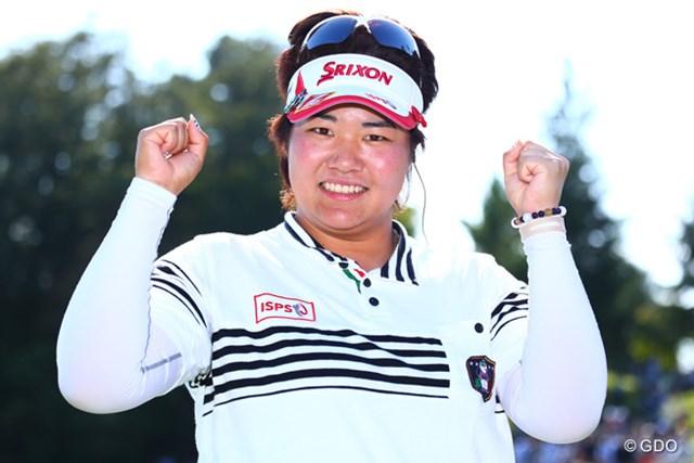2014年 ミヤギテレビ杯ダンロップ女子オープン 最終日 酒井美紀 優勝おめでとうございます!