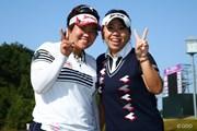2014年 ミヤギテレビ杯ダンロップ女子オープン 最終日 酒井美紀&吉田弓美子