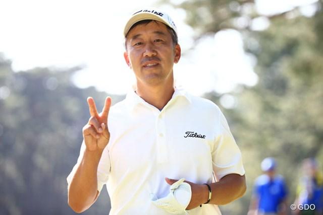 2014年 アジアパシフィックオープンゴルフチャンピオンシップ ダイヤモンドカップゴルフ 最終日 S.K.ホ 優勝のVサインはお預けに・・・