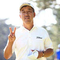 優勝のVサインはお預けに・・・ 2014年 アジアパシフィックオープンゴルフチャンピオンシップ ダイヤモンドカップゴルフ 最終日 S.K.ホ