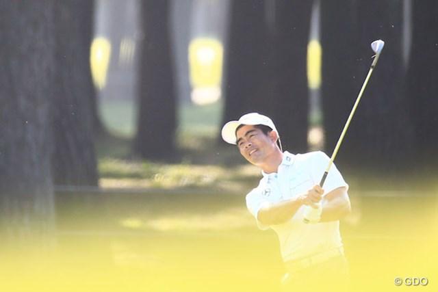 2014年 アジアパシフィックオープンゴルフチャンピオンシップ ダイヤモンドカップゴルフ 最終日 リャン・ウェンチョン 日本ツアーでの初優勝はまたもお預けとなったリャン・ウェンチョン