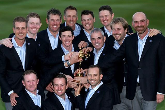 3連覇を果たした欧州代表(Andrew Redington/Getty Images)