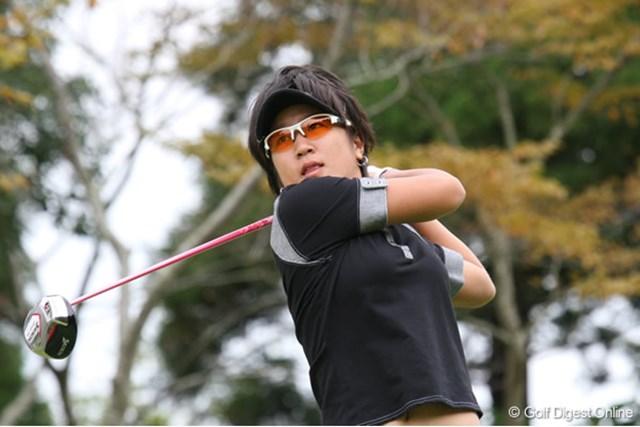 藤本麻子 19位でローアマチュアを獲得した藤本麻子