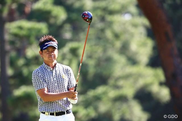 2014年 アジアパシフィックオープン ダイヤモンドカップ 最終日 藤田寛之 「内容的には完璧ではなかったけれど、結果的には100点満点」と、今季3勝目を飾った藤田寛之