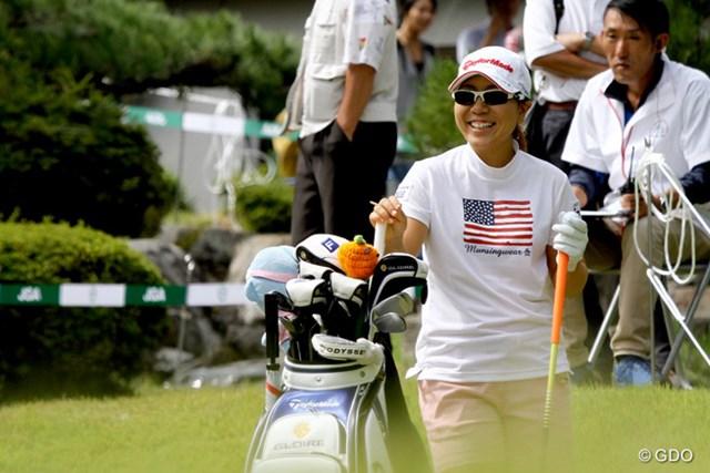 2014年 日本女子オープンゴルフ選手権競技 事前 宮里美香 宮里美香の今季米ツアーは事実上の終了。気持ちを切り替えて今週の大舞台に全力を注ぐ