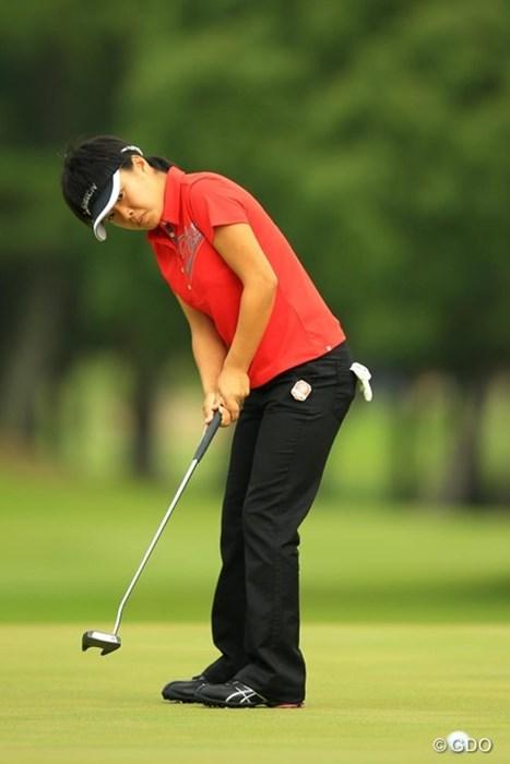 ノーボギーでスコアを4つ伸ばし、14位タイで予選通過です。アマチュアが11人も予選通過って・・・恐るべし。 2014年 日本女子オープンゴルフ選手権競技 2日目 篠原真里亜