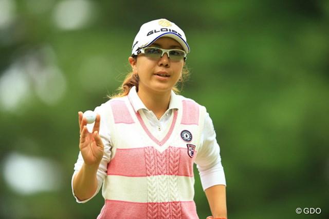 2014年 日本女子オープンゴルフ選手権競技 2日目 宮里美香 簡単に取りこぼさない。今日もショートゲームが冴え渡りましたね。