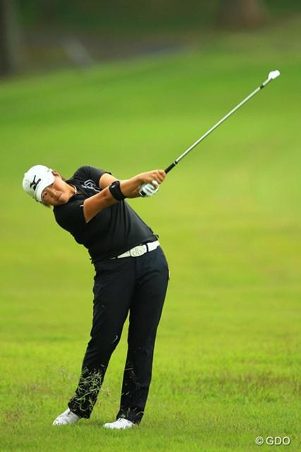 2014年 日本女子オープンゴルフ選手権競技 3日目 工藤遙加 工藤遥加が3位タイに浮上。後半のスパートで首位に肉薄した