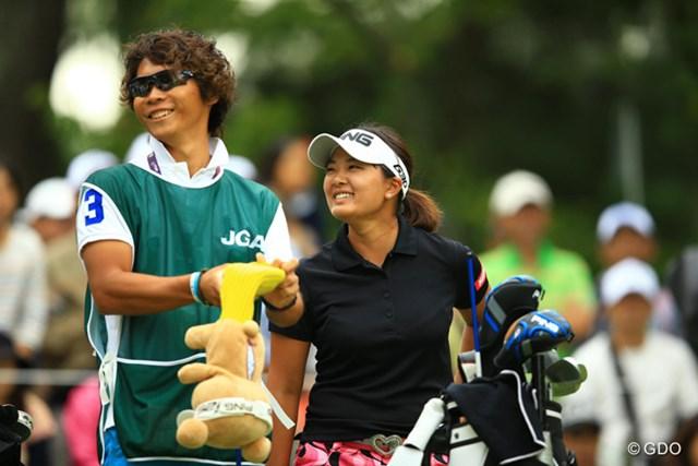 2014年 日本女子オープンゴルフ選手権競技 3日目 鈴木愛 快挙に王手をかけた最終日は「楽しく回りたい」。メジャー2連勝に王手をかけた鈴木愛