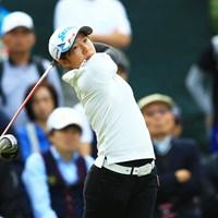 16歳がメジャーのムービングデーを牽引。橋本千里が51位から18位に急浮上! 2014年 日本女子オープンゴルフ選手権競技 3日目 橋本千里(アマ)