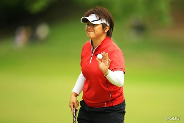 2014年 日本女子オープンゴルフ選手権競技 3日目 ウェイ・ユンジェ ウェイ・ユンジェがメジャー初Vに王手。天国にいる祖母に朗報を届けたい