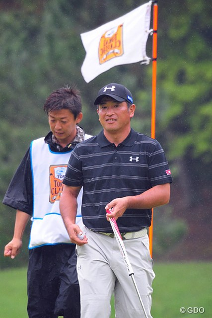 2014年 トップ杯東海クラシック  最終日 増田伸洋 シード復帰をほぼ確実にした増田。2週後にはホームコースでの日本オープン