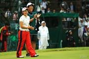 2014年 日本女子オープンゴルフ選手権競技 最終日 永井花奈
