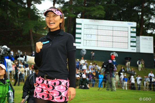 2014年 日本女子オープンゴルフ選手権競技 最終日 テレサ・ルー 鮮やかな逆転でメジャー初優勝! 笑顔を弾かせたテレサ・ルー