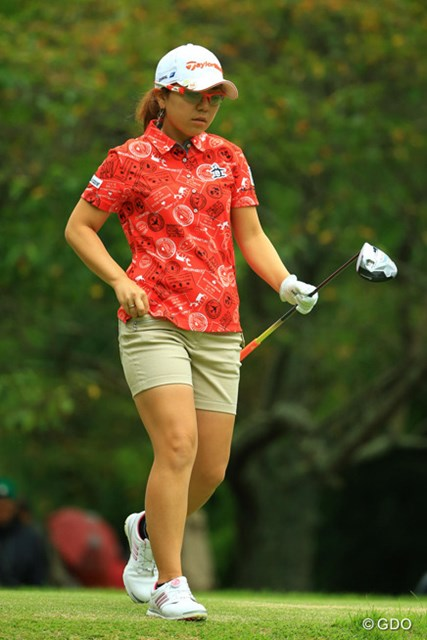 2014年 日本女子オープンゴルフ選手権競技 最終日 宮里美香 最終日は6ボギーを叩き大きく後退。大会連覇は叶わなかった宮里美香