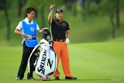 2014年 TOSHIN GOLF TOURNAMENT IN Central 3日目 藤本佳則