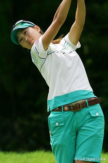 上田桃子 4位タイで終え、再び賞金女王争いでトップに立った上田桃子