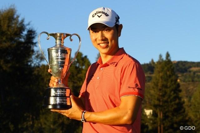 逃げ切ってツアー2勝目を果たした韓国のベ・サンムン