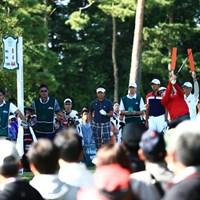 ギャラリーも前年比+3001人これもアダム人気 2014年 日本オープンゴルフ選手権競技 初日 アダム・スコット、ヤン・ガン、藤田寛之