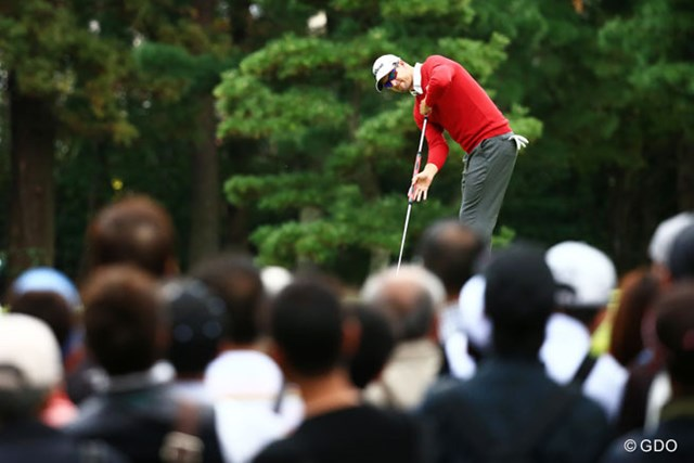2014年 日本オープンゴルフ選手権競技 初日 アダム・スコット 長尺パターも似合います
