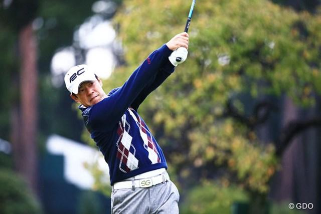 2014年 日本オープンゴルフ選手権競技 初日 今野康晴 日本オープン結構強いよね