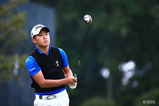2014年 日本オープンゴルフ選手権競技 初日 佐藤大平(アマ) 東北福祉大3年のアマチュア、目標はもちろんローアマ