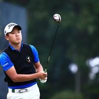 東北福祉大3年のアマチュア、目標はもちろんローアマ 2014年 日本オープンゴルフ選手権競技 初日 佐藤大平(アマ)