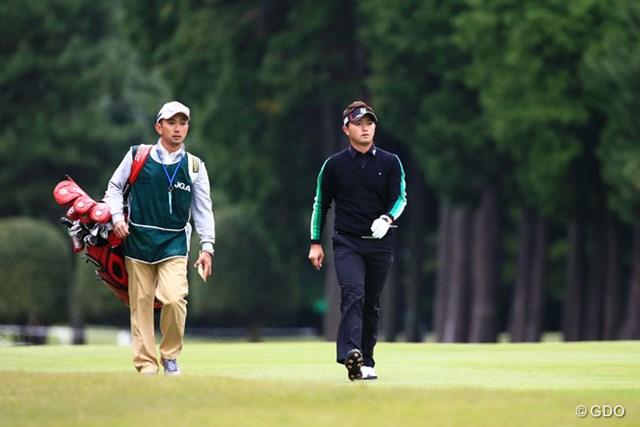2014年 日本オープンゴルフ選手権競技 初日 片岡大育 好発進!4アンダートップと3打差