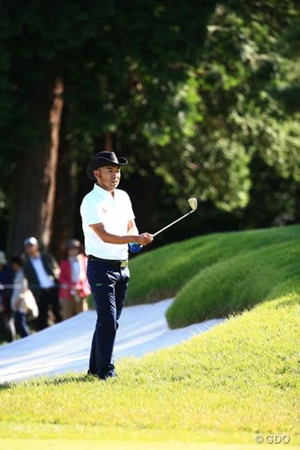 2014年 日本オープンゴルフ選手権競技 初日 片山晋呉 バックナインが上手くいってれば・・・