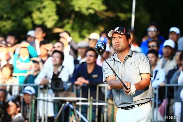 2014年 日本オープンゴルフ選手権競技 2日目 池田勇太 通算8アンダーとし首位と1打差につける池田勇太