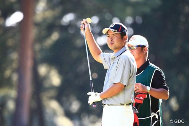 単独2位をがっちりキープ。池田は日本オープン初勝利へ絶好の位置