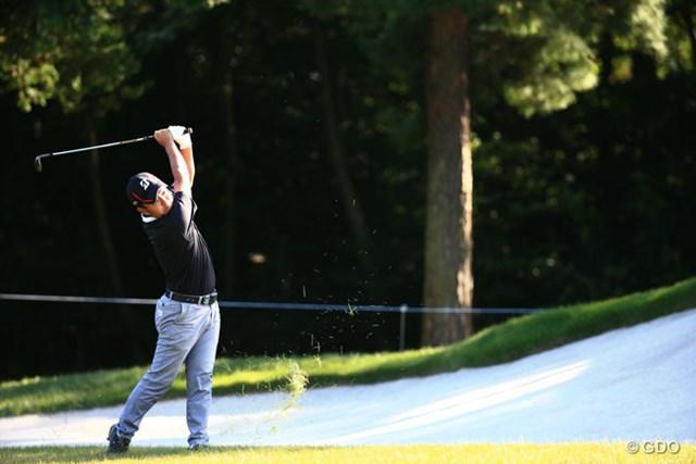 2014年 日本オープンゴルフ選手権競技 2日目 時松隆光 頑張って健闘の4位T