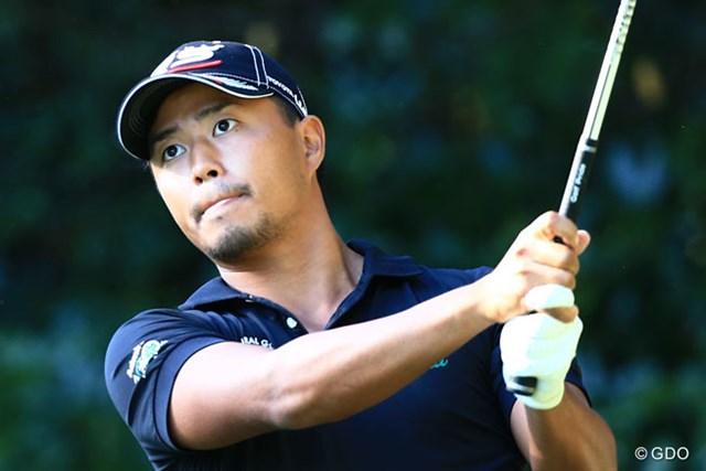 2014年 日本オープンゴルフ選手権競技 2日目 小平智 上位に顔だしてきましたよ