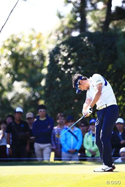2014年 日本オープンゴルフ選手権競技 2日目 小林正則 ディフェンディングチャンプも2アンダー12位T