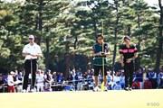 2014年 日本オープンゴルフ選手権競技 3日目 アダム・スコット 塩見好輝