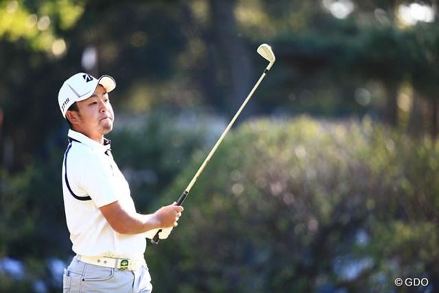 2014年 日本オープンゴルフ選手権競技 3日目 時松隆光 この顔誰かににてるんだけどな~4位T