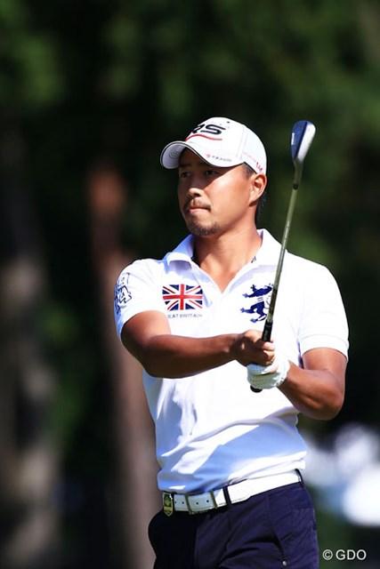 2014年 日本オープンゴルフ選手権競技 3日目 小平智 この大会が終わり次第アメリカ?