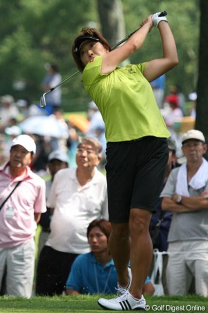 福嶋晃子 相性の良いコースで好スタートを切ったホステスプロの福嶋晃子