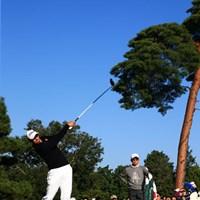 アダムスコット 田村尚之:なかなかの組み合わせ 2014年 日本オープンゴルフ選手権競技 最終日 アダム・スコット 田村尚之