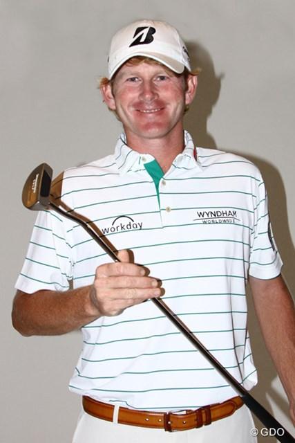 2014年 ブリヂストンオープンゴルフトーナメント 事前 ブラント・スネデカー 発売間近の「TD-02」パターを手に、3年ぶりのホスト大会に臨むB.スネデカー