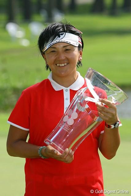 「ファンに勇気を貰いました!」3年ぶりの優勝に笑顔の茂木宏美