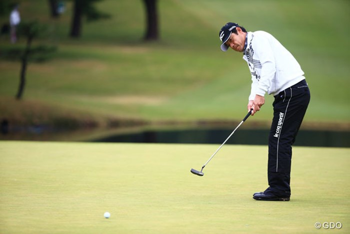 先週も今週も活躍してます3アンダー9位T 2014年 ブリヂストンオープンゴルフトーナメント 初日 今野康晴
